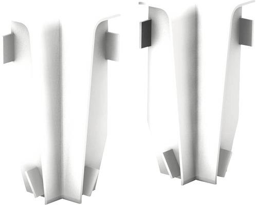 Angles intérieurs pour plinthe en MDF blanc 18x58 mm-0