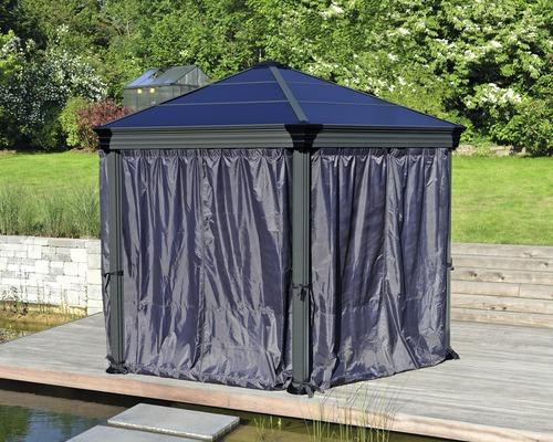 Jeu de rideaux Palram – Canopia Pavillon Roma-0
