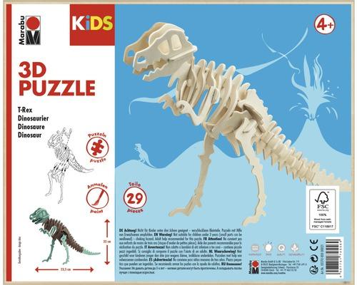 Puzzle 3D dinosaure Marabu KiDS