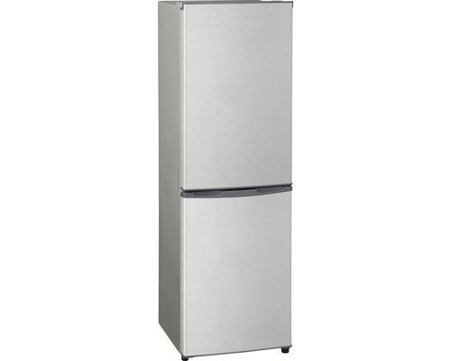 Réfrigérateur-congélateur PKM KG 162.4A+ argent lxhxp 47.4 x 149.6 x 49 cm compartiment de réfrigération 99 l compartiment de congélation 54 l