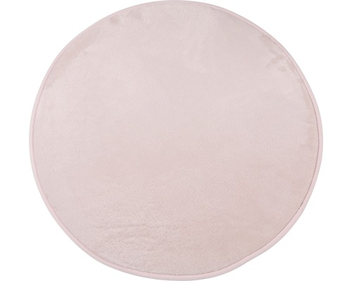 Tapis Soft rosé Ø67cm
