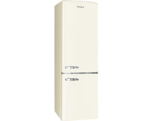 Réfrigérateur-congélateur Amica KGCN 387 100 B lxhxp 55 x 181 x 61.5 cm compartiment de réfrigération 181 l compartiment de congélation 63 l