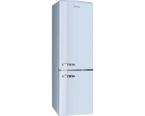 Réfrigérateur-congélateur Amica KGCR 387 100 L lxhxp 55 x 181 x 61.5 cm compartiment de réfrigération 181 l compartiment de congélation 63 l