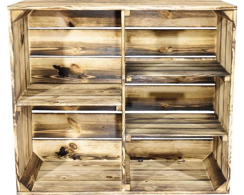 Armoire en bois moiré 77x68x35cm