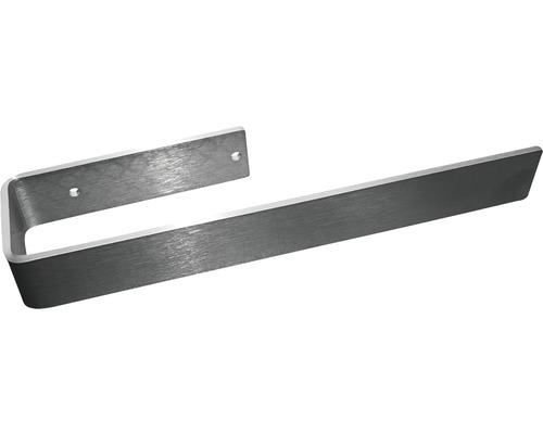 Porte-serviettes pour radiateurs design New York, Aachen et Lyon 43cm acier inoxydable H77430