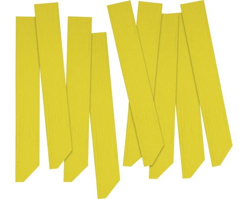 Étiquettes pour plantes FloraSelf bois 25 pièces