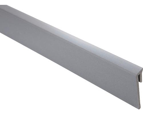 Plinthe anthracite 14x60x2500mm