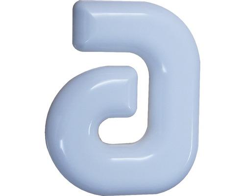 Hausnummer a Nylon weiß