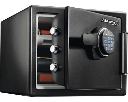 Coffre-fort à poser Master Lock LFW082FTC noir avec système de verrouillage électronique
