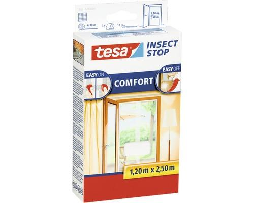 Moustiquaire porte persienne tesa Insect Stop Comfort sans perçage blanc 2x 65x250 cm