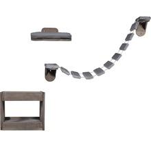 Katzenmöbel-Set 3-teilig inkl. Katzenhöhle, Katzenleiter, Katzenbett-thumb-0