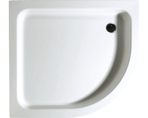 Duschwanne Schulte 90x100x8,5 cm D999010 04 weiß inkl. Wannenfüße und Ablaufgarnitur