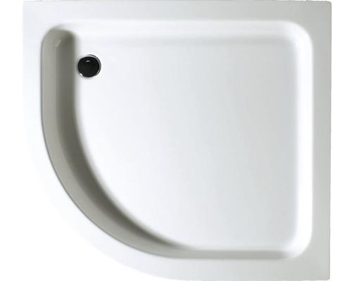 Duschwanne Schulte 100x90x8,5 cm D991090 04 weiß inkl. Wannenfüße und Ablaufgarnitur