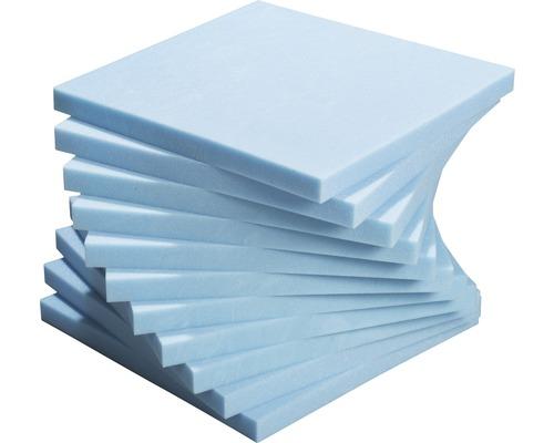 Pack pro plaque de mousse ISOPUR 50x50x4 cm 11 pièces