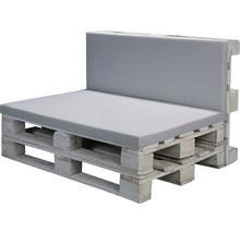 Coussin d''assise pour palettes en mousse Softpur 120x80x5 cm-thumb-1