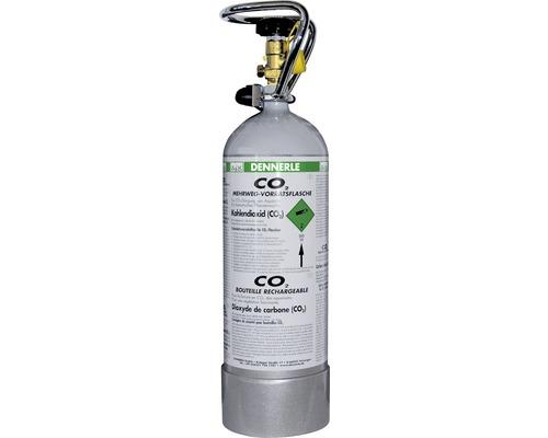 Remplissage de CO2 jusqu''à 2500 g