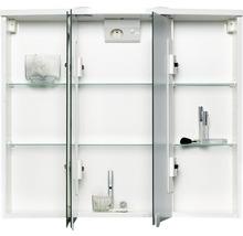 Armoire de toilette Trava LED blanc-thumb-1