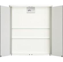 Armoire de toilette Tamrus LED blanc-thumb-1