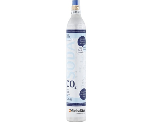 Gaz carbonique (CO2) adapté à Sodastream, remplissage de 425 g-0