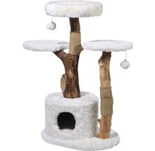 Kratzbaum Frosty 60x45x110 cm weiß-thumb-0