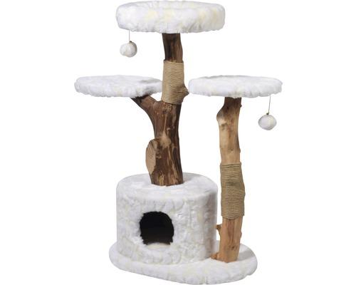 Kratzbaum Frosty 60x45x110 cm weiß-0