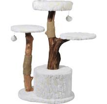 Kratzbaum Frosty 60x45x110 cm weiß-thumb-1