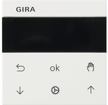 Commande murale avec écran pour store vénitien + minuterie Gira 536603 Standard 55/Event/Event Opak blanc pur brillant-thumb-0