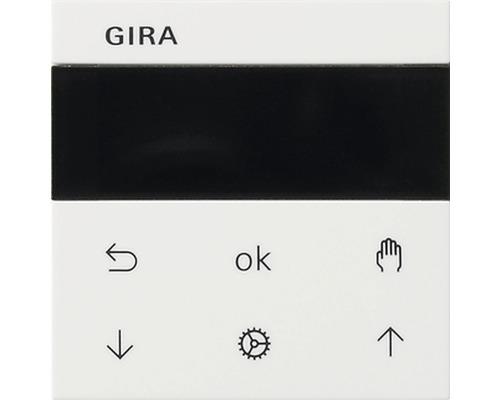 Commande murale avec écran pour store vénitien + minuterie Gira 536603 Standard 55/Event/Event Opak blanc pur brillant-0