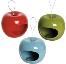 Distributeur de nourriture Pomme céramique 14x14x12 cm 3 unités-thumb-0