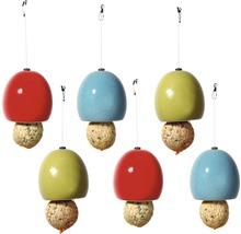 Distributeur de nourriture Boules de graisse céramique 9,5x9,5x9,5 cm 6 unités-thumb-0