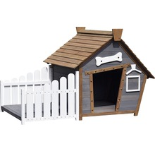 Niche Porch avec terrasse 146,3x90x96cm-thumb-2