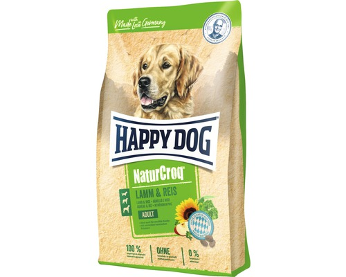 Hundefutter trocken HAPPY DOG NaturCroq Lamm & Reis 15 kg
