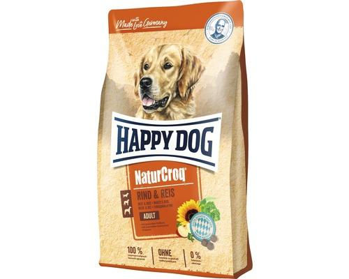 Hundefutter trocken HAPPY DOG NaturCroq Rind & Reis 15 kg