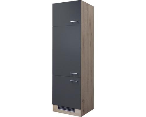 Meuble modulaire pour appareils Flex Well Tiago largeur 60 cm gris basalte