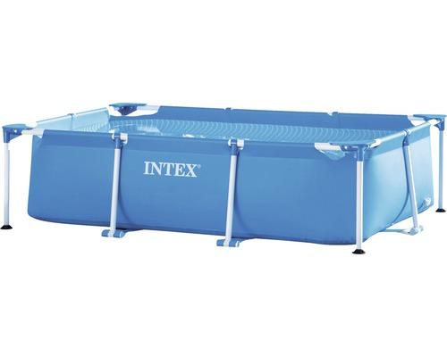 Piscine hors sol tubulaire Intex Family rectangulaire 260x160x65 cm sans accessoires bleu