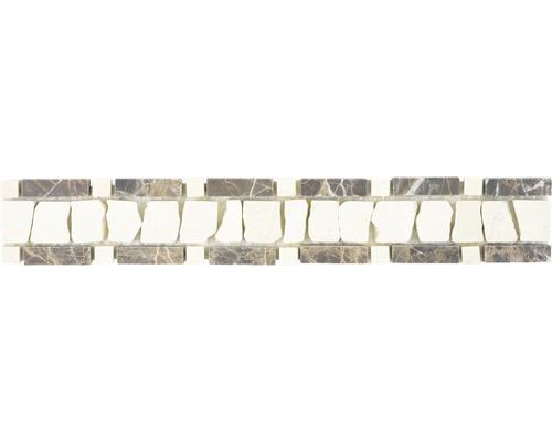 Mosaïque en pierre naturelle BO LA DEC11 5x30cm