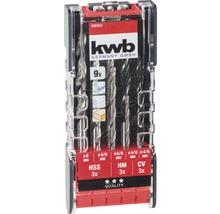 Set de 9 forets KWB-thumb-0