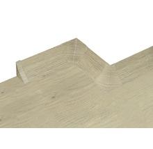 Kit d'accessoires pour profilé de raccordement mural 23 chêne 4pièces-thumb-2