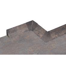 Kit d'accessoires pour profilé de raccordement mural 23 Rusty Iron 4pièces-thumb-3