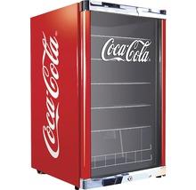 Réfrigérateur pour boissons CoolCube 115L CocaCola, (hxlxp) 84,5x54x54,8 cm