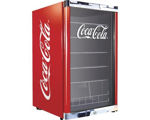 Réfrigérateur à boissons Cool Cubes Coca Cola lxhxp 54 x 84,5 x 54,8 cm compartiment de réfrigération 115 l