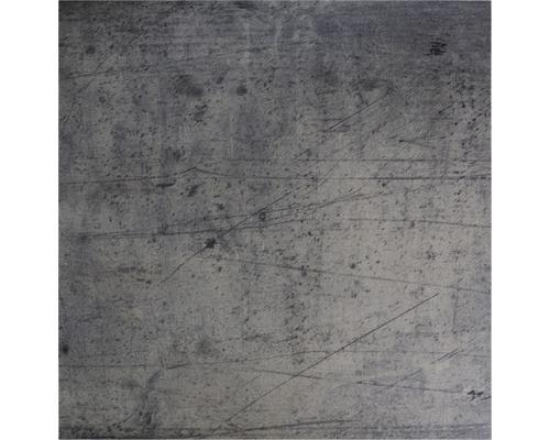 PVC Elara Fliesenoptik silber 400 cm breit (Meterware)