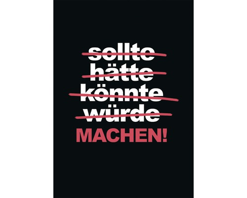 Carte postale Machen! 14,8x10,5 cm