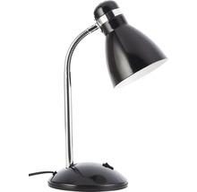 Lampe de table 1 ampoule h 420 mm Allison noir-thumb-0