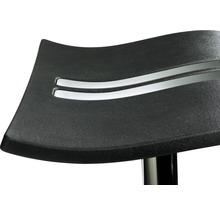 Tabouret de bar Mayer Sitzmöbel Wave 1208-01-677 39x39x86 cm noir-thumb-1
