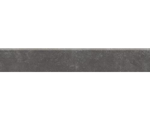 Plinthe en carrelage Marlin noir 60x9,5 cm
