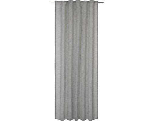 Vorhang mit Universalband Selection grau140x255 cm