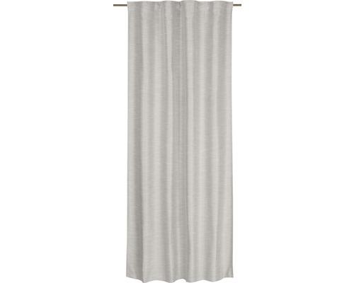 Vorhang mit Universalband Selection Spirit 07 hellgrau135x255 cm