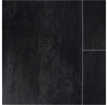 PVC Narvi Fliesenoptik schwarz 400 cm breit (Meterware)-thumb-0