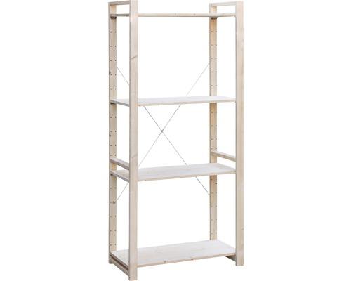 Étagère de base en bois système NICO 800x1800x400 mm
